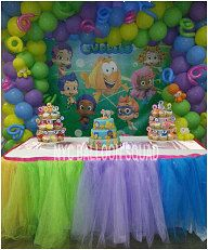Bubble Guppies Party Idea and tutu skirt & 47 best Bubble Guppies Birthday Party images on Pinterest ...