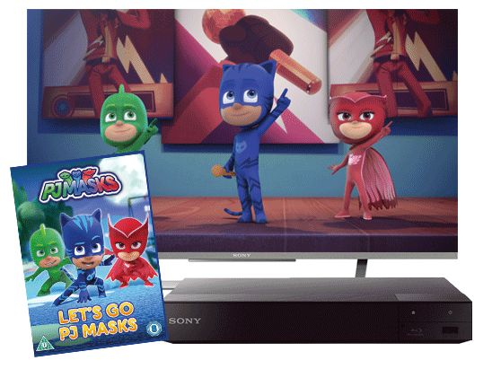 Win a Sony LED TV, Blu-ray player and PJ Masks DVD