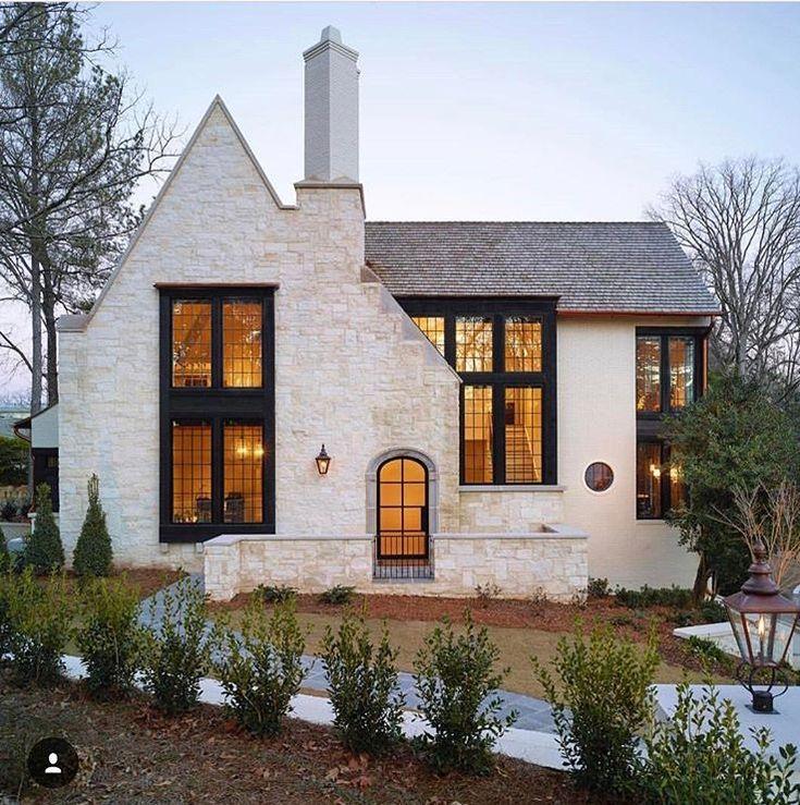 New Stone Finish House Exterior