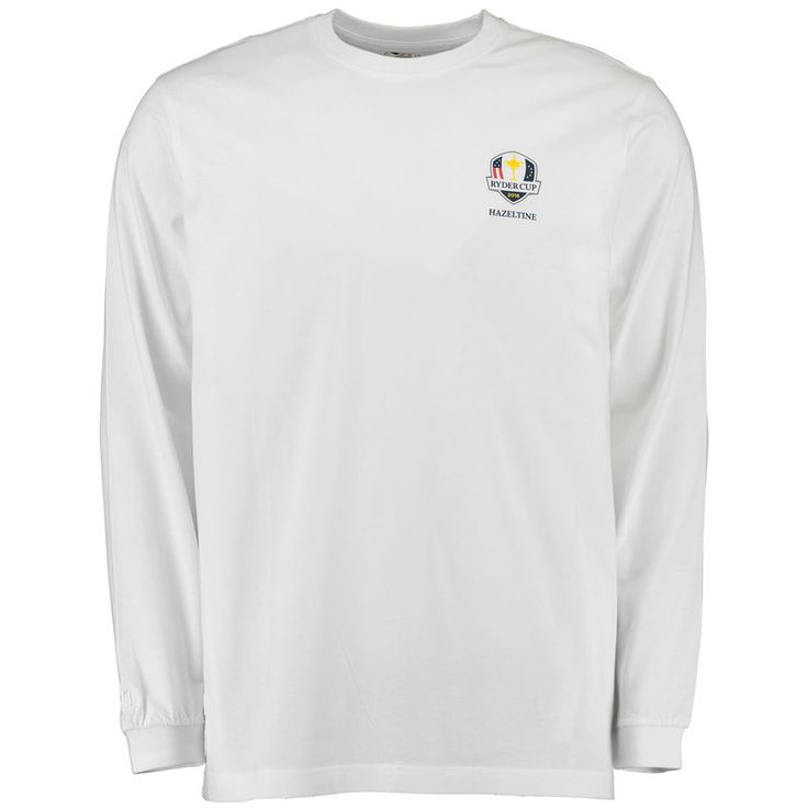 2016 Ryder Cup Hazeltine Long Sleeve T-Shirt - White