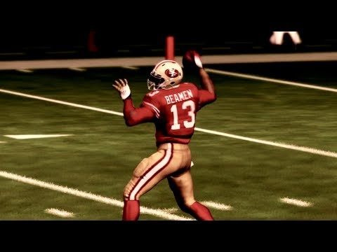 Madden 13: Superstar Mode - Willie Beamen's Learning the Ropes | 49ers Preseason Game 1