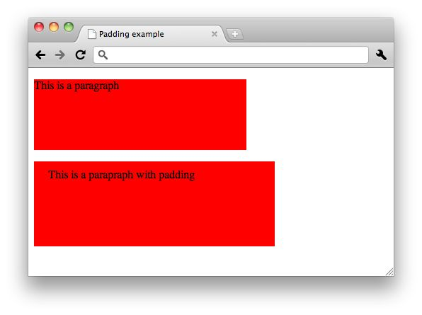 CSS: Padding and margin See also: JavaScript Best practices
