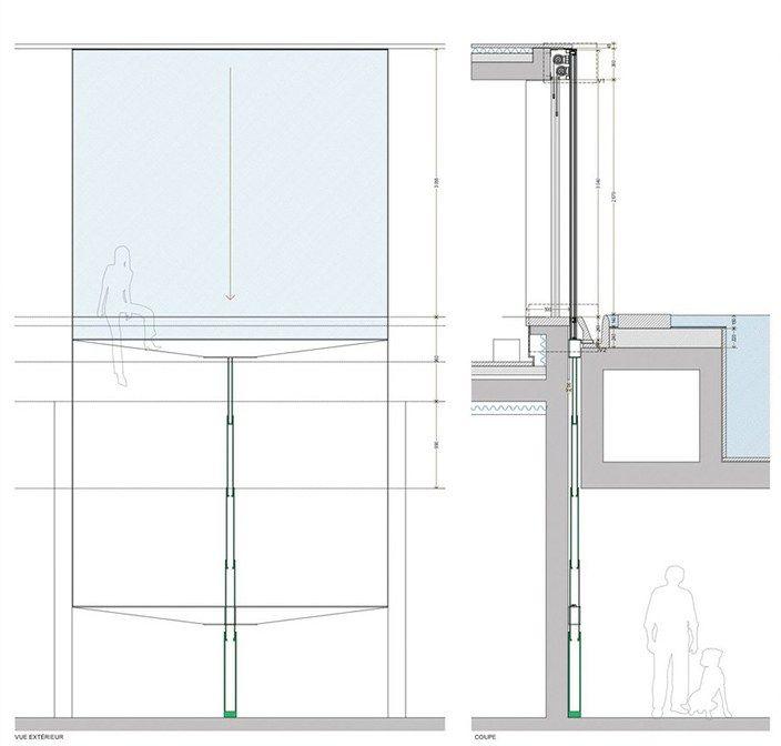 Les 25 meilleures id es concernant fen tres guillotine sur for Fenetre atelier ouvrante