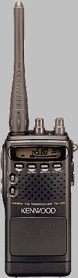 The first ham radio I owned, and still own.  Kenwood: TH-22/42(A/AT/E) FM Handheld Transceiver