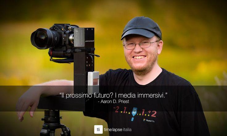 Parliamo di futuro e di #timelapse a 360° con Aaron Priest