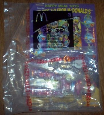 MCDONALDS 2003 SPY KIDS 3-D GAME OVER #3 CARMEN IN ROBOT NIP