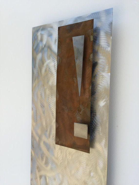 Metal art sculpture by Holly Lentz Abstract от onlyart76 на Etsy