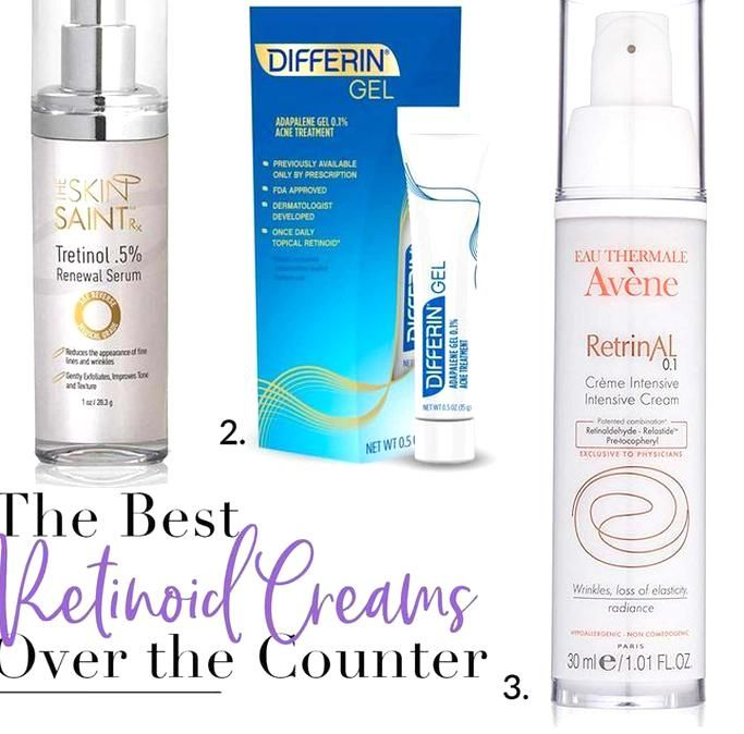 The Best Over The Counter Retinoid And Retinol Serums For Anti Aging Skincare In 2020 Differin Gel Intensive Cream Avene Gel