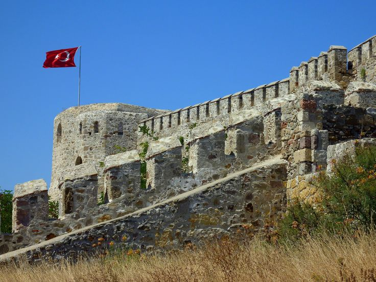 The Fortress on Bozcaada (Turkey)