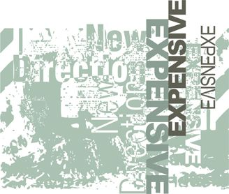 Text expensive in grey abstract background royalty free image in vector graphic for t-shirts and apparel products.