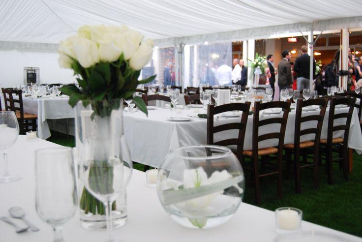 Marquee weddings at Brackenridge