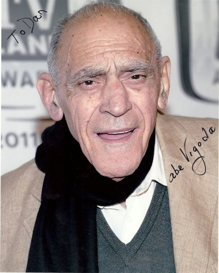 "Abe Vigoda - 94 - He had been wrongly reported as ""deceased"" so many times, that I didn't believe it this time when it was true. :( RIP Fish"