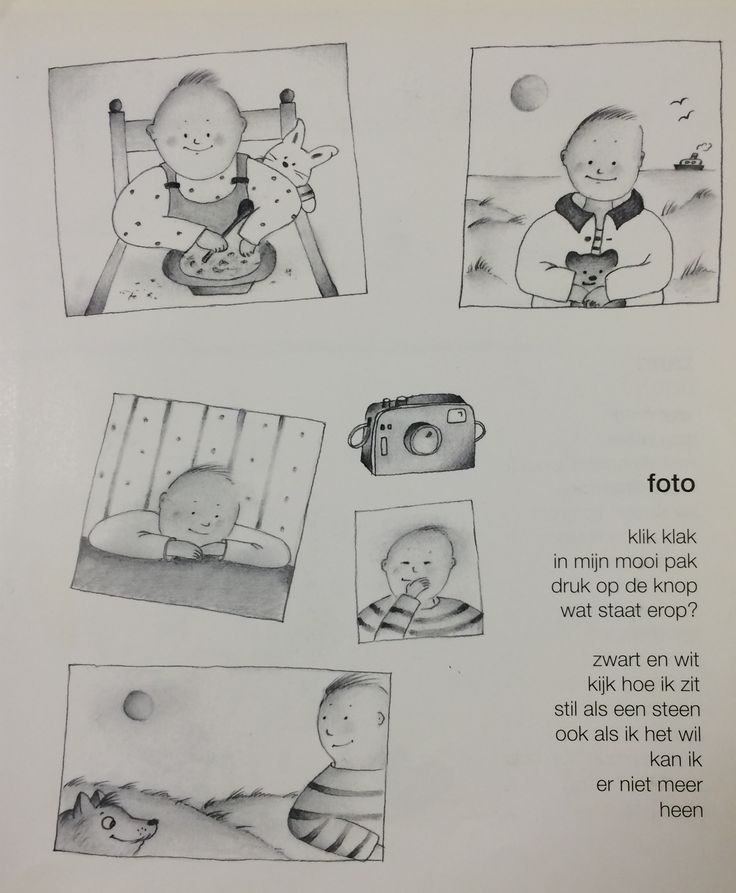 Versje 'De foto' Thema fotograaf