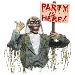 Zombie Party Decorations | ... Have an Apocalypse Party! | A Girls Guide to the Zombie Apocalypse