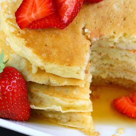 Buttermilk pancakes, Pancakes and Cooking on Pinterest