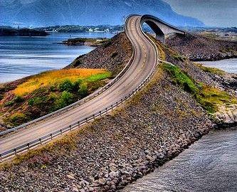 Atlantic Road Pinterest Pin