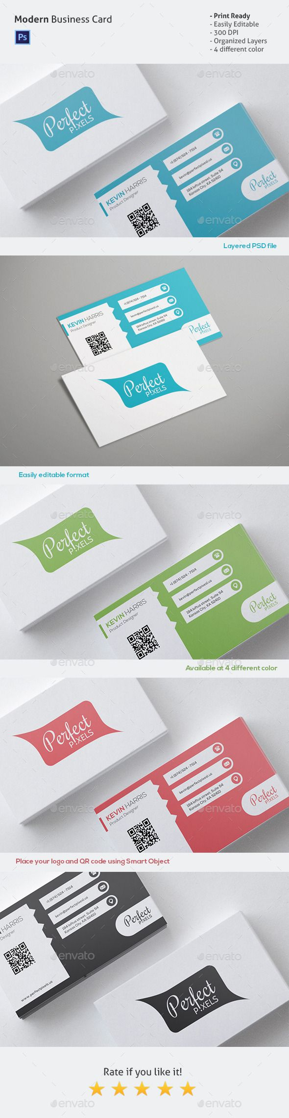 The 96 best business card s e l e c t i o n images on pinterest simple business card reheart Images