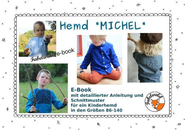 MICHEL ist ein Hemd für alle Lausbuben und -Mädchen, das sich wunderbar für den Alltag eignet, aber auch mal zu feineren Anlässen getragen werden kann.  Den Schnitt gibt es in den Größen 86-140....