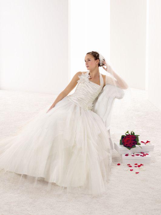 ... forward melle lena robe de mariée romantique au large volume de