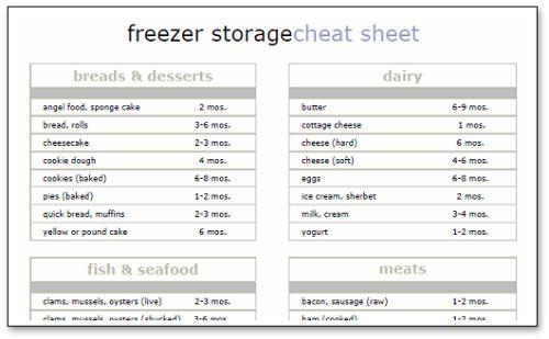 Best 25 Freezer Storage Ideas On Pinterest Fridge