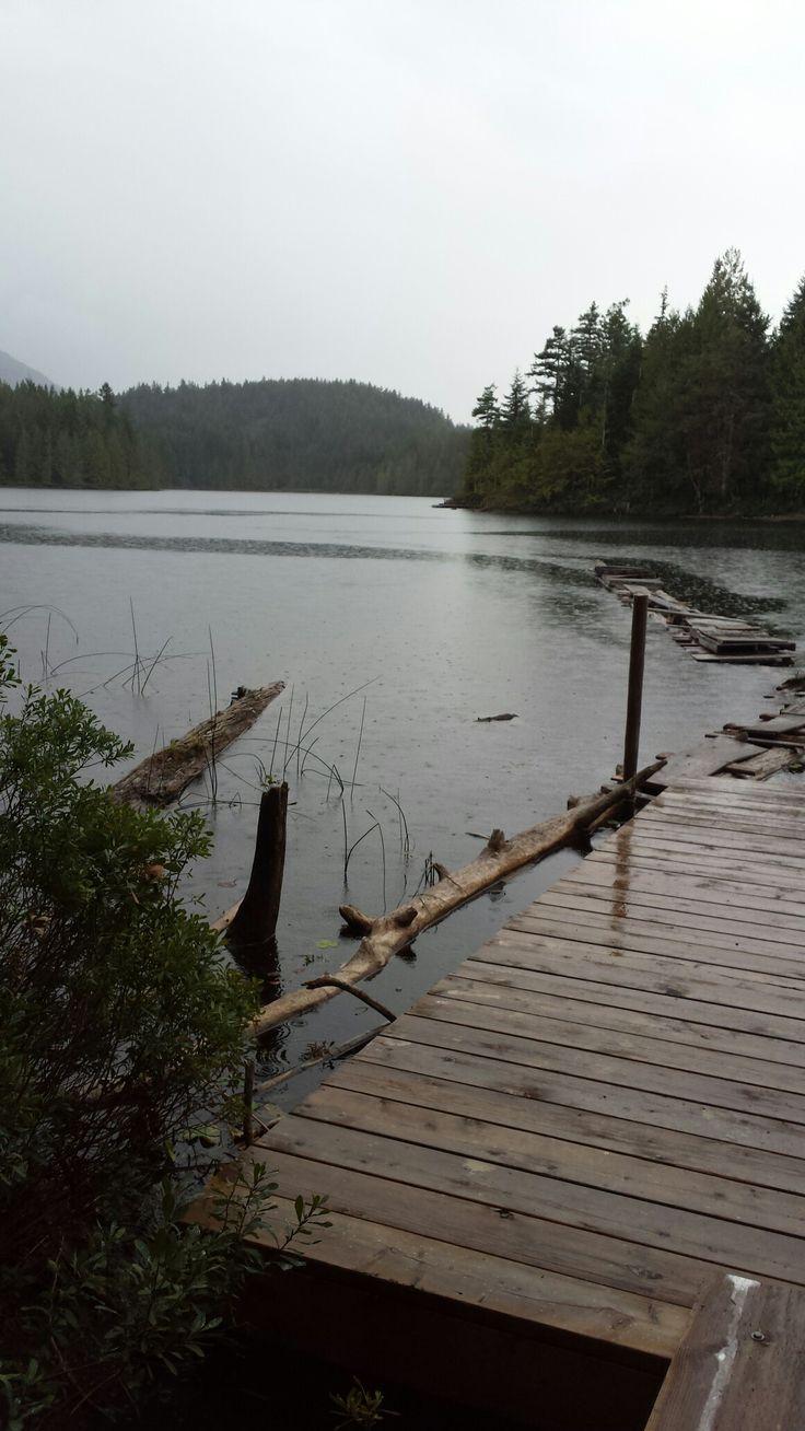 Kline Lake dock