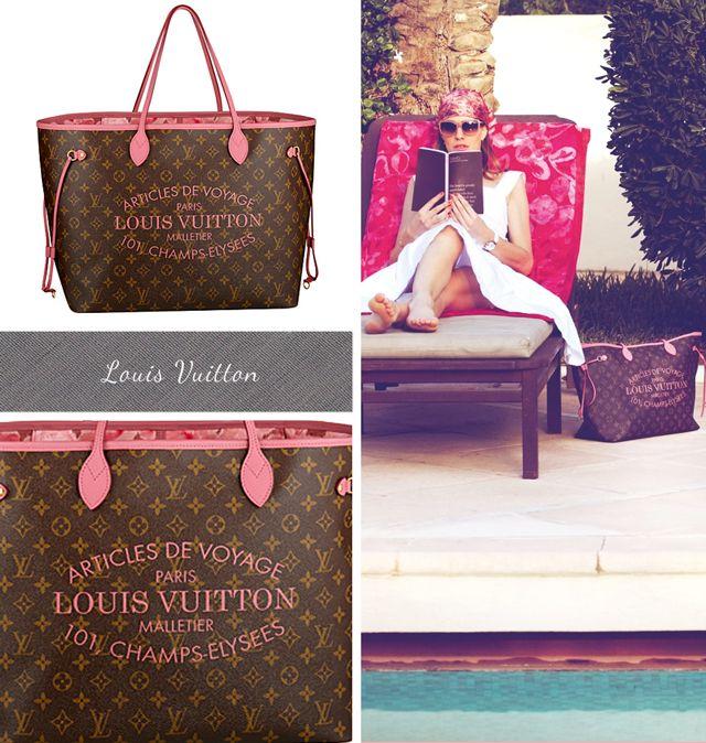 Louis Vuitton Summer 2013 - Monogram Neverfull Floral Ikat - Handbags, Purses, and Bags - Zimbio
