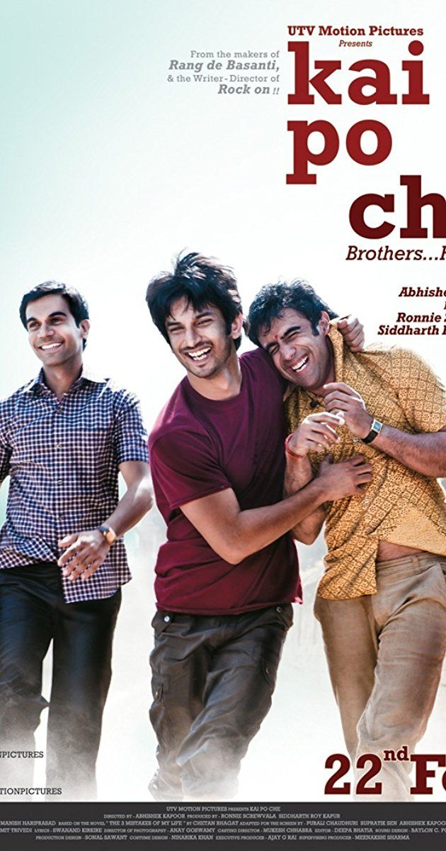 Directed by Abhishek Kapoor.  With Amit Sadh, Sushant Singh Rajput, Rajkummar Rao, Amrita Puri. Three friends growing up in India at the turn of the millennium set out to open a training academy to produce the country's next cricket stars.