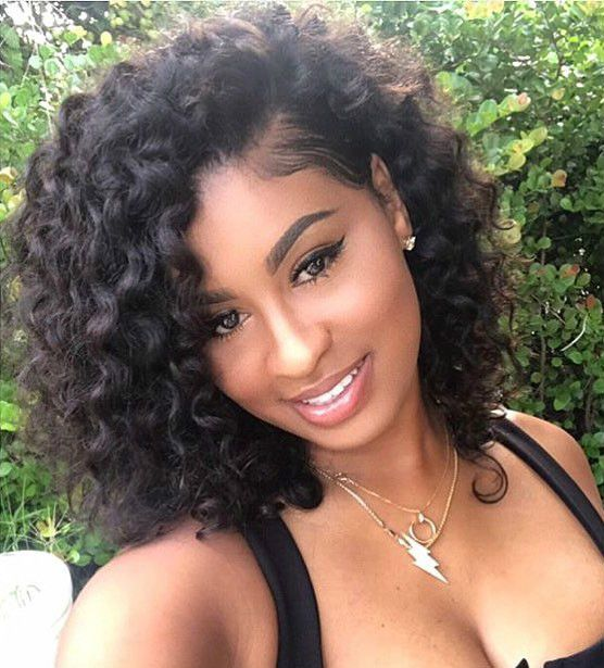 Curly hairstyles wigs for black women human hair wigs lace front wigs african american women wigs black girl natural hairstyles