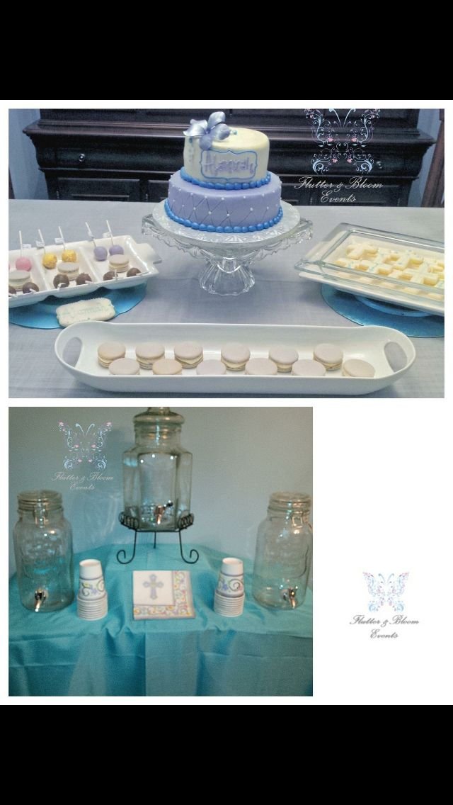 First Communion Celebration! By Flutter & Bloom Events! #firstcommunion #flutter&bloom