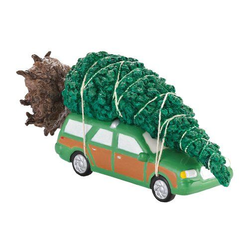 Department 56 Original Snow Village The Griswold Family Christmas Tree Accessory, 3.15-Inch #christmas