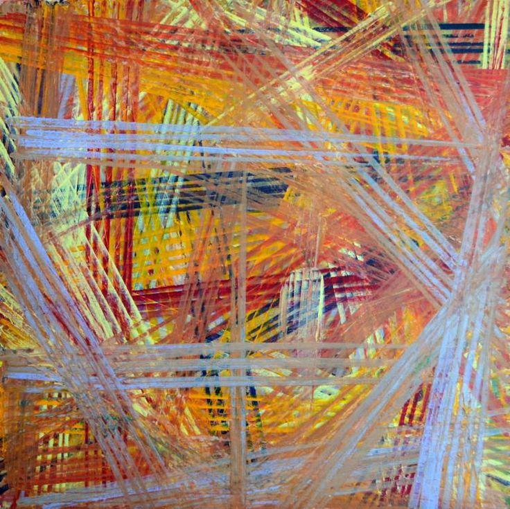 "Saatchi Art Artist Para Skevi; Painting, ""Ichnography III"" #art"