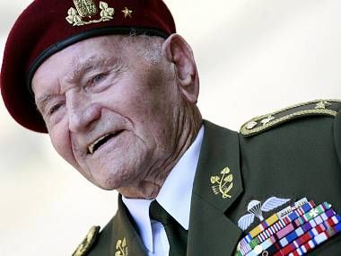 Jaroslav Klemes, the last surviving Czech parachusist. In a recent article he stated that he would do it all again.
