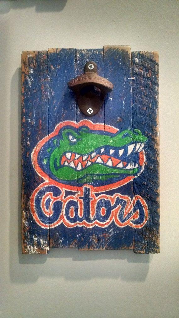 University of Florida Gators Bottle Opener by RudyMonteroPainting