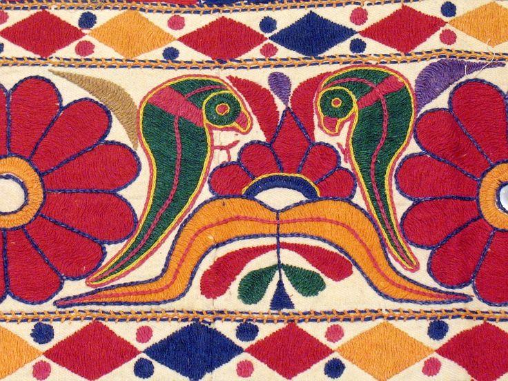 Banjara Indian Hand Embroidered Door Topper