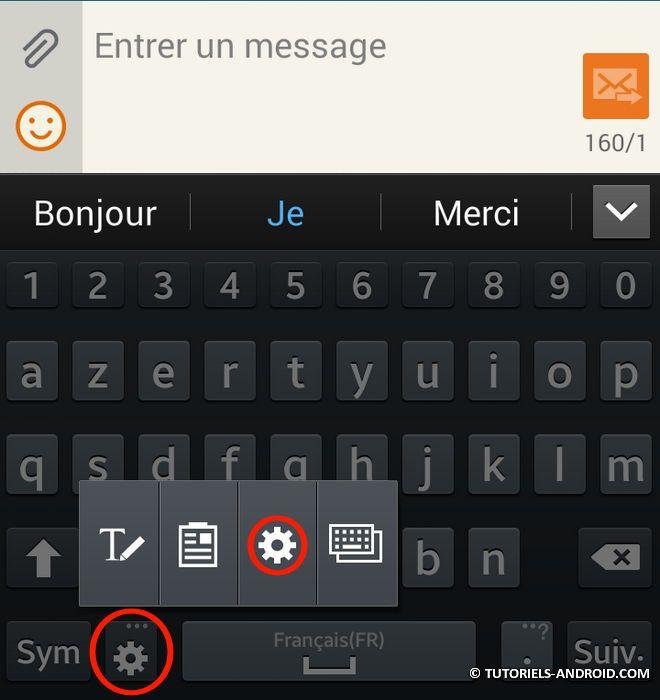 Activer Ou Desactiver La Correction Automatique Sur Android Android Tutoriel Correcteur Automatique