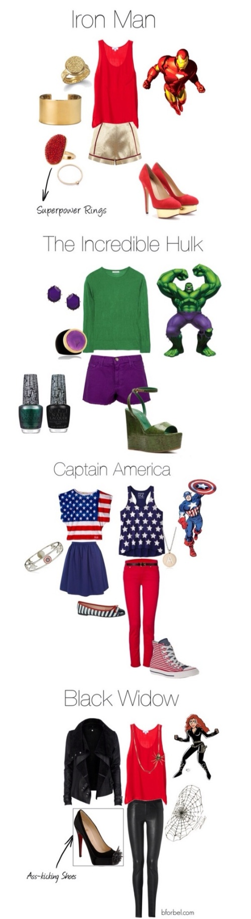 What to wear to a Comic-Con by www.girlsgonethrift.com