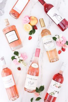 I love rose wines. Perfect for summer!