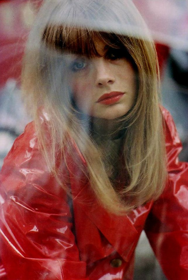 Jean Shrimpton by Saul Leiter, 1966
