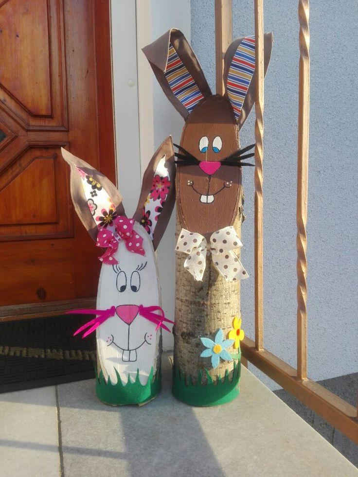 Easter / Spring door decore 🌸🐰🐰🌸