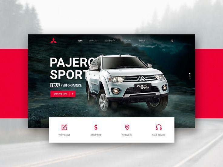Mitsubishi Motors website