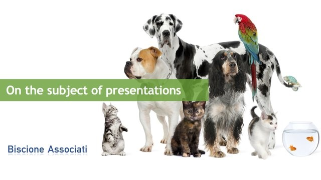Presentations are not just a bunch of slides. Presentations are stories.