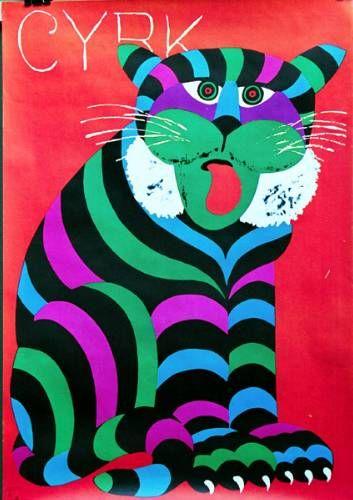 CYRK Striped Cat    Hubert Hilscher