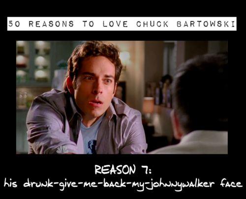 Reasons to love Chuck Bartowski <3