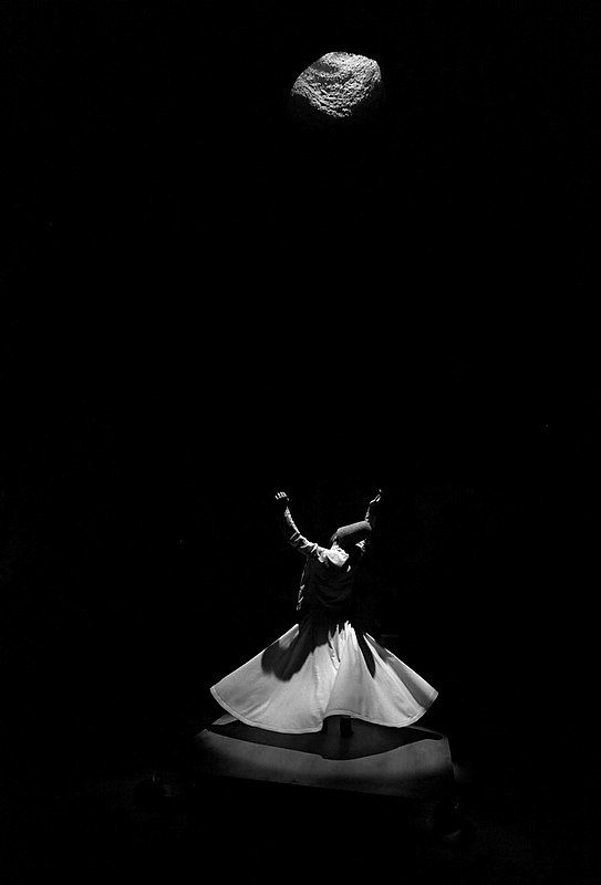 Do you know what Sema, The Sufi Dance of Whirling Dervishes is? Sema is letting go completely of your existence and tasting eternity in non-existence. Sema is hearing affirmation sound of separating from self, and reaching God, whirling. Sema is seeing and knowing the State of Lord, our Friend, and hearing through the Divine Veils, the Secrets of God. Sema is struggling hard with your carnal soul, your own ego, and throwing it to the ground like a half-slain beast.