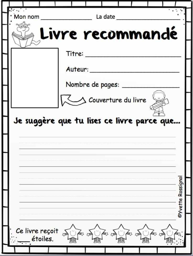 35 French Reading Response! NO PREP :)