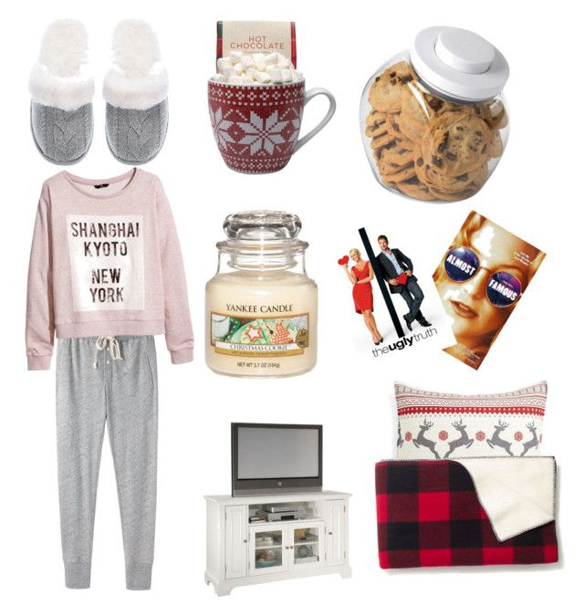 """""""Cold film Night"""" by kovacslilla on Polyvore featuring Steven Alan, H&M, OXO, Victoria's Secret, Almost Famous, Home Styles, Levtex and Madewell"""