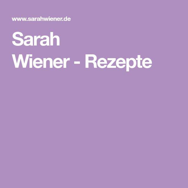 Sarah Wiener-Rezepte