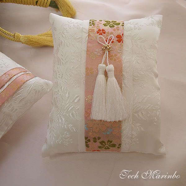 【楽天市場】和風リングピロー手作りキット【桜花】お名前刺繍入り:ウェディング工房てく・まりんぼ
