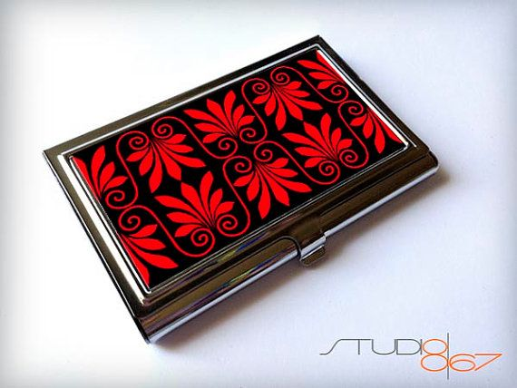 Hey, I found this really awesome Etsy listing at https://www.etsy.com/listing/153963916/stainless-steel-card-case-greek-design