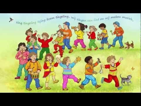 ▶ Zing tingeling, een lied voor de Heer maakt je blij - YouTube